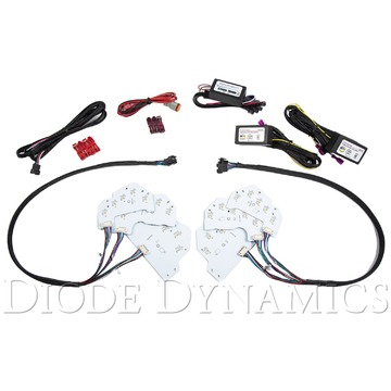 Diode Dynamics RGBWA DRL LED Boards EU For 2018 Mustang