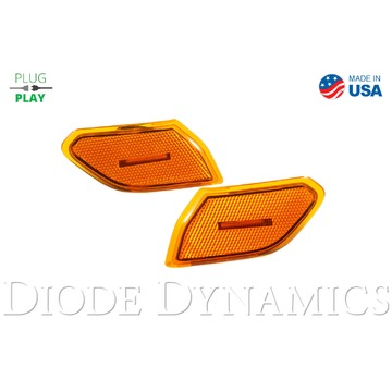 Diode Dynamics Sidemarkers Amber Set For Jeep JL