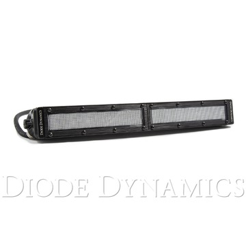 12 Inch LED Light Bar Single Row Straight Clear Flood Each Stage Series