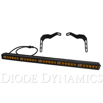 Diode Dynamics 30 Inch LED Lightbar Kit Amber Driving Stealth Series For Tundra