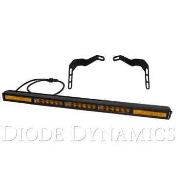 Diode Dynamics 30 Inch LED Lightbar Kit Amber Combo Stealth Series For Tundra