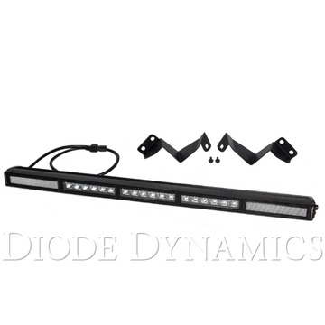 Diode Dynamics 30 Inch LED Light Bar Kit Stealth Clear Combo 16-19 Tacoma