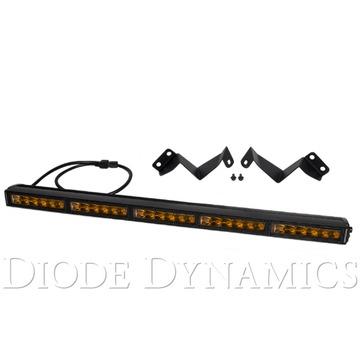 Diode Dynamics 30 Inch LED Light Bar Kit Stealth Amber Driving 16-19 Tacoma