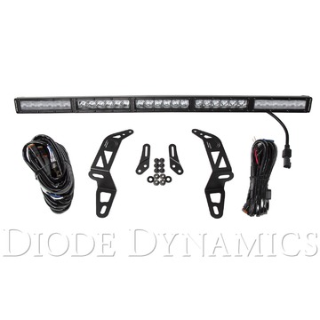 Diode Dynamics SS30 Bumper LED Kit White Combo Single For 2018 Jeep