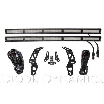 Diode Dynamics SS30 Bumper LED Kit White Flood Dual For 2018 Jeep