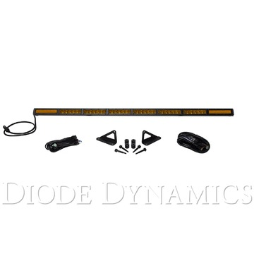 Diode Dynamics SS50 Hood LED Kit Amber Combo For 2018 Jeep