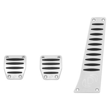 Dinan D700-0000 Aluminum Pedal Cover Set for BMW with Manual Transmission