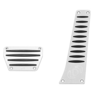 Dinan D700-0001 Aluminum Pedal Cover Set for BMW with Automatic Transmission/DCT