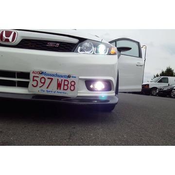 Morimoto LF170 XB LED Fogs Type H Set / Black