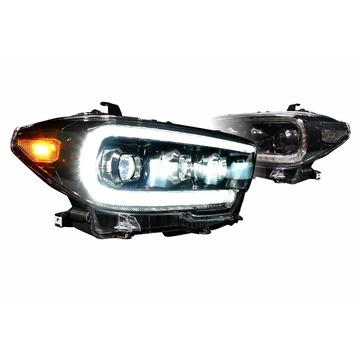 Morimoto LF530 XB LED Head Lights Toyota Tacoma 16-20 Set / Black