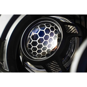 Morimoto S265 Panamera 2.0 Black White/Amber LED Switchback