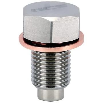 HPS Stainless Steel Magnetic Oil Drain Plug Bolt For 2016-2017 GS200t 2.0L Turbo