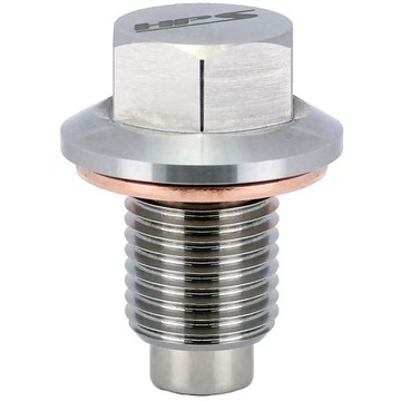 HPS Stainless Steel Magnetic Oil Drain Plug Bolt Acura 1997 CL 2.2L