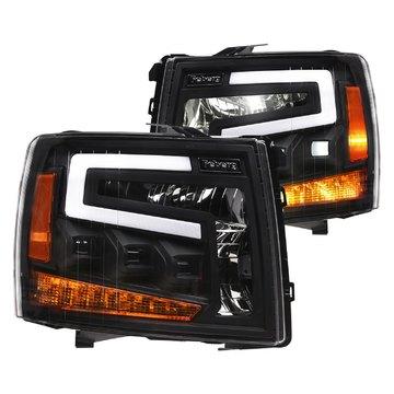 Alpha Owls 7180109 Tri Pro LED Headlight For 2007-2013 Silverado 1500