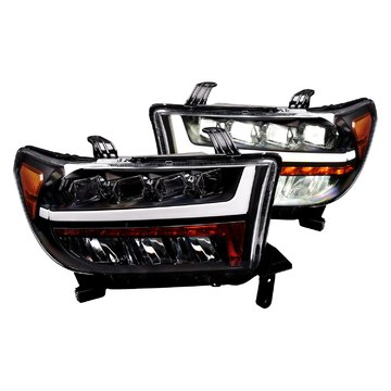 Alpha Owls 7180116 Quad Pro LED Headlight For 2007-2013 Tundra