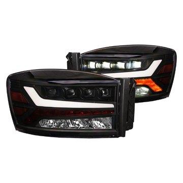 Alpha Owls 7180123 Quad Pro LED Headlight For 2006-2008 Ram 1500