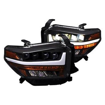 Alpha Owls 7180383 Quad Pro LED Headlight For 2014-2019 Tundra Halogen Mdls
