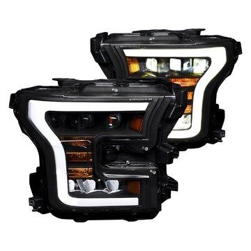 Alpha Owls 7180390 Quad Pro LED Headlight For 2015-2017 F-150 Halogen Mdls