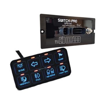 Switch-Pros SP-9100 8 Switch Panel Power System