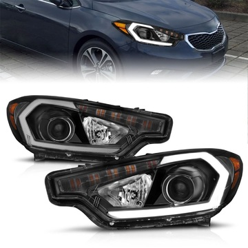 Anzo USA 121560 Projector Headlight Set Fits 14-16 Forte