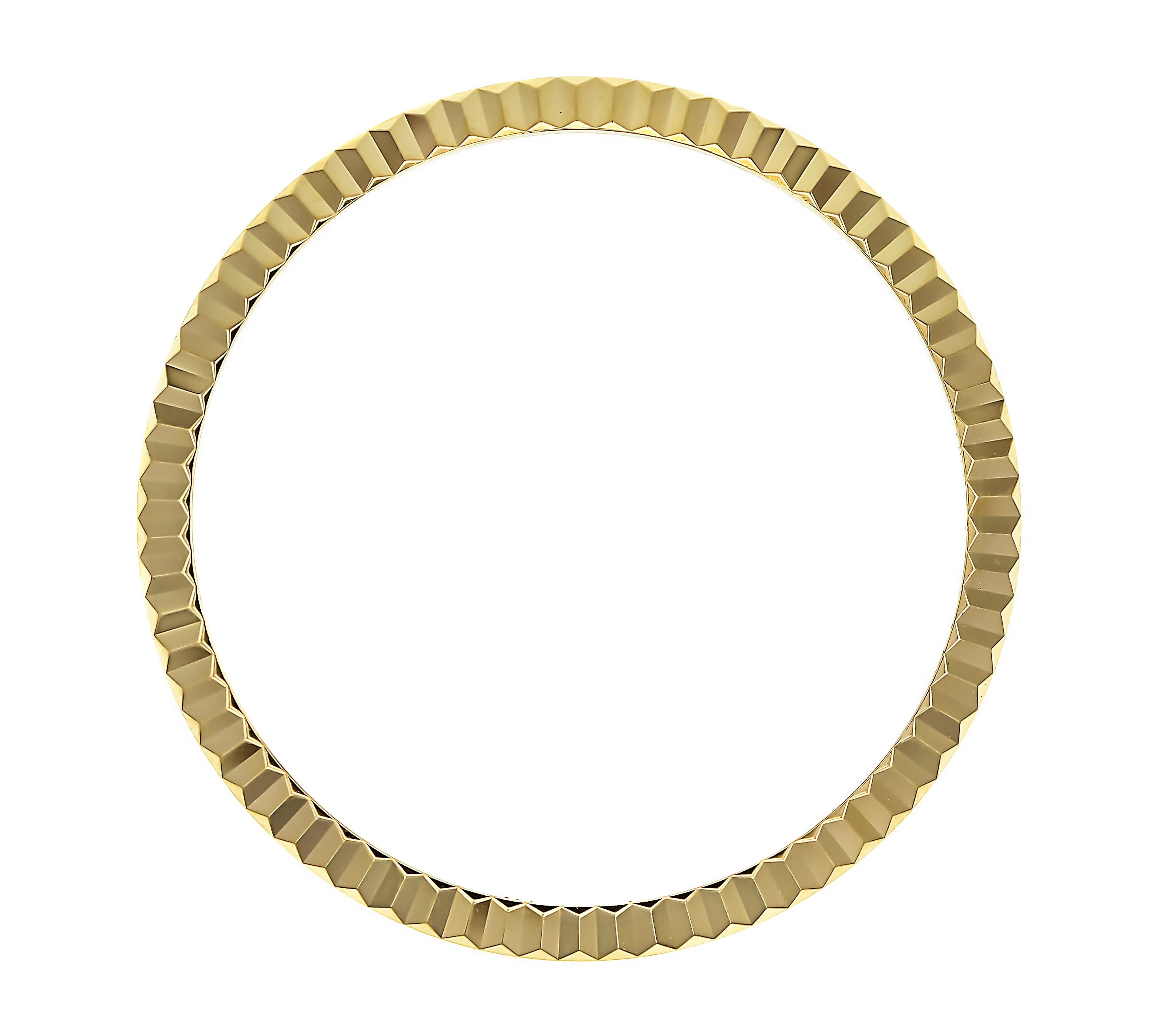 FLUTED  BEZEL FOR 36MM ROLEX PRESIDENT DAYDATE 18026 18028 18029 WATCH GOLD