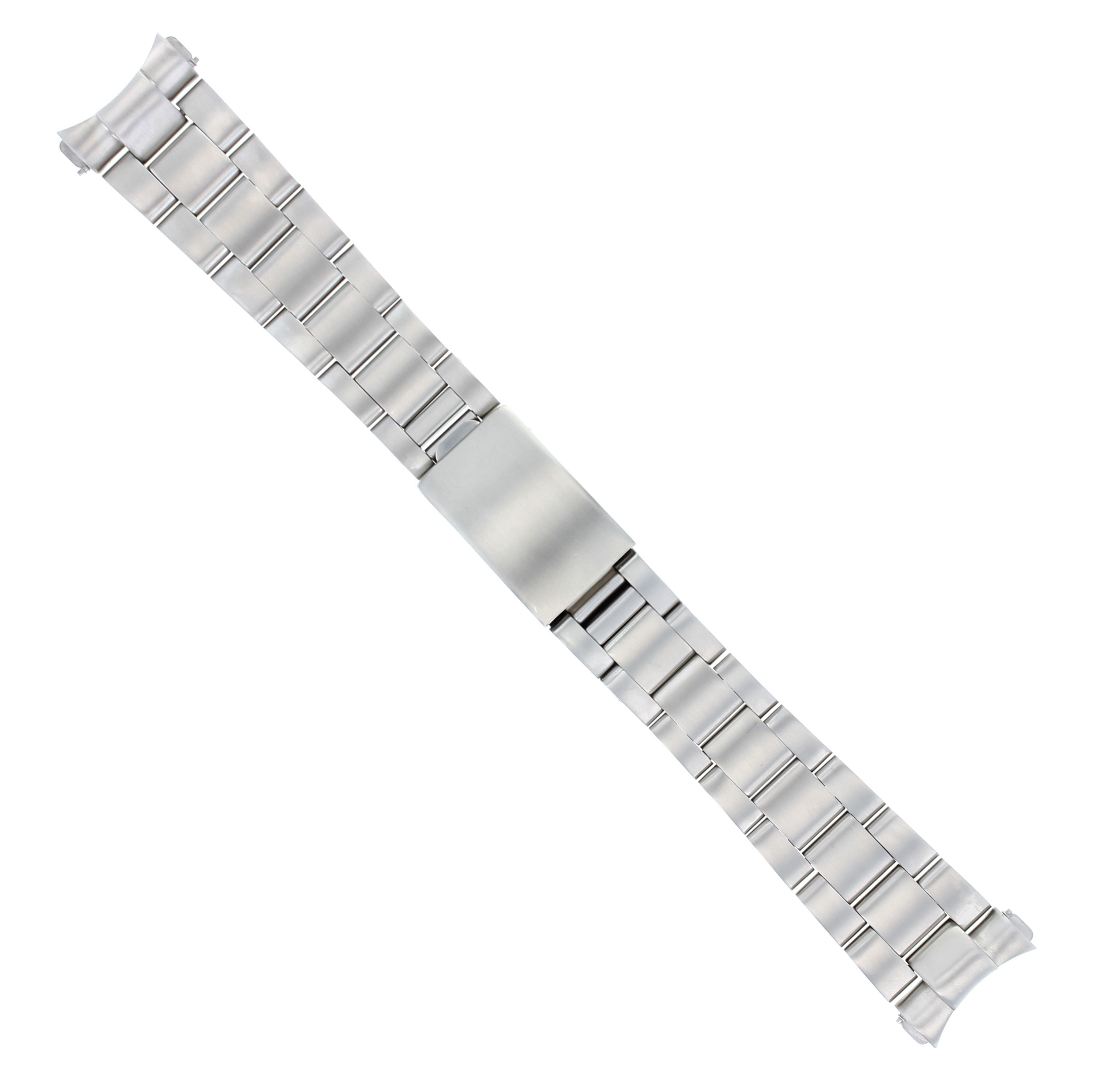 OYSTER WATCH BAND BRACELET FOR ROLEX 20MM DATEJUST WATCH MATTE SOLID END PIECE