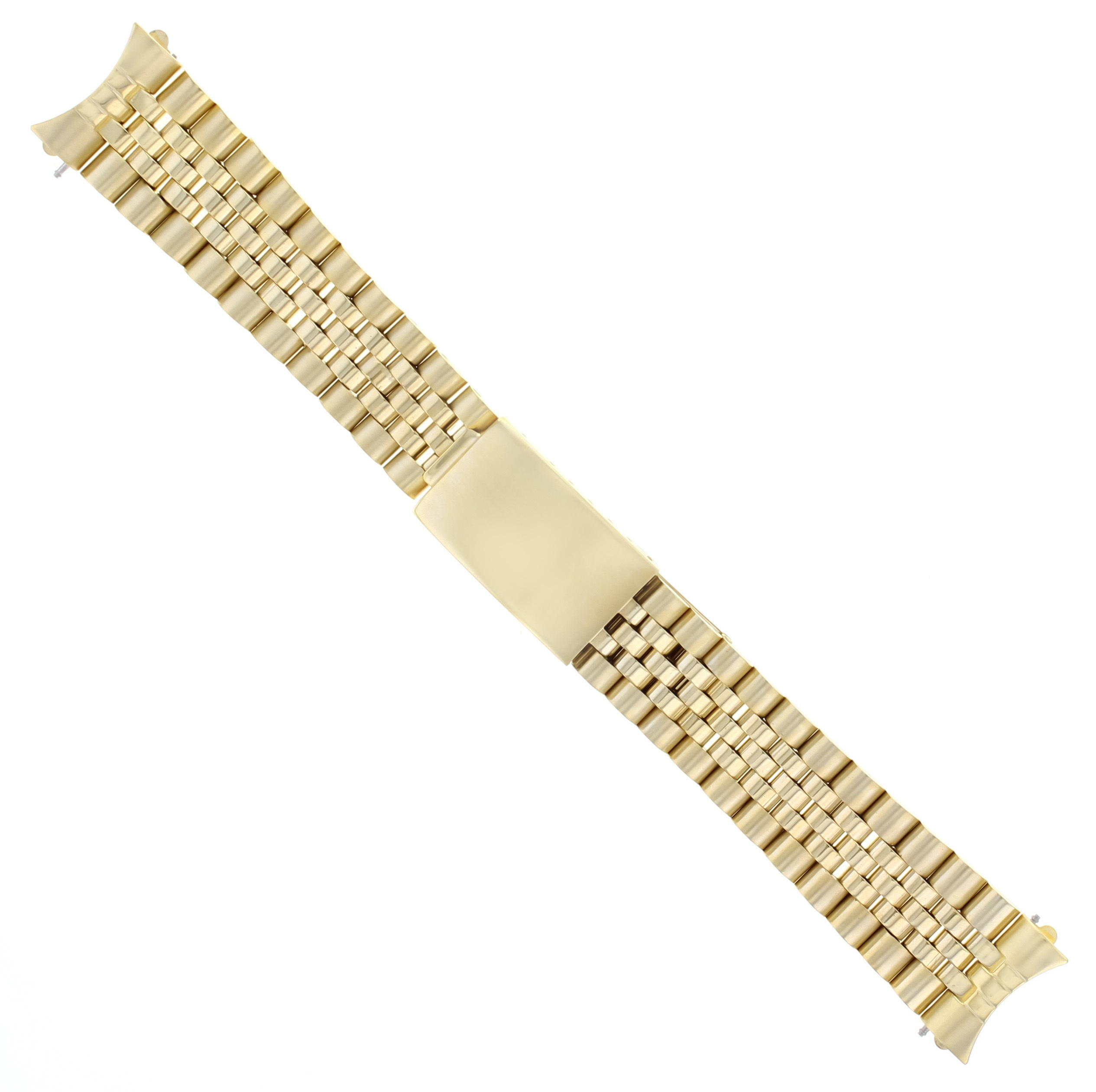 JUBILEE WATCH BAND MENS FOR 36MM ROLEX DATEJUST 16014 16018 WATCH GOLD 20MM
