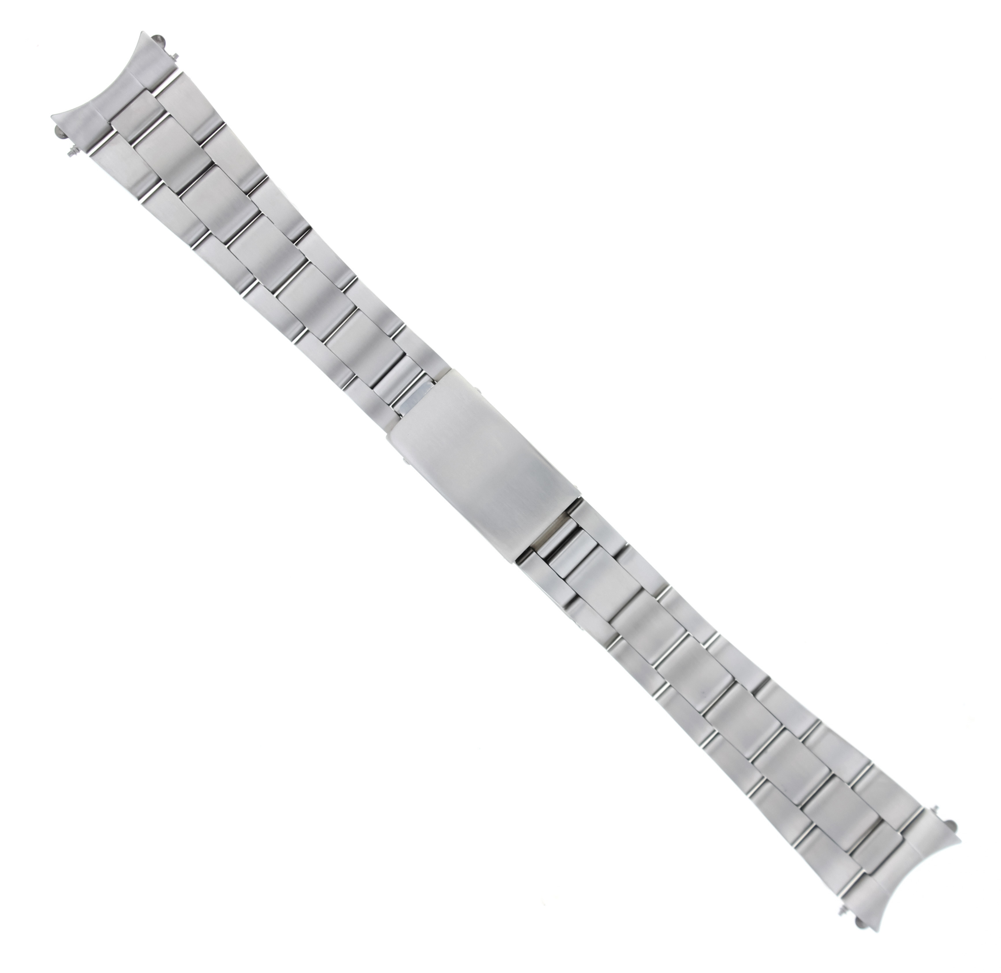 OYSTER SOLID WATCH BAND LINK STAINLESS STEEL FOR ROLEX SUBMARINER MATTE 19MM HVY