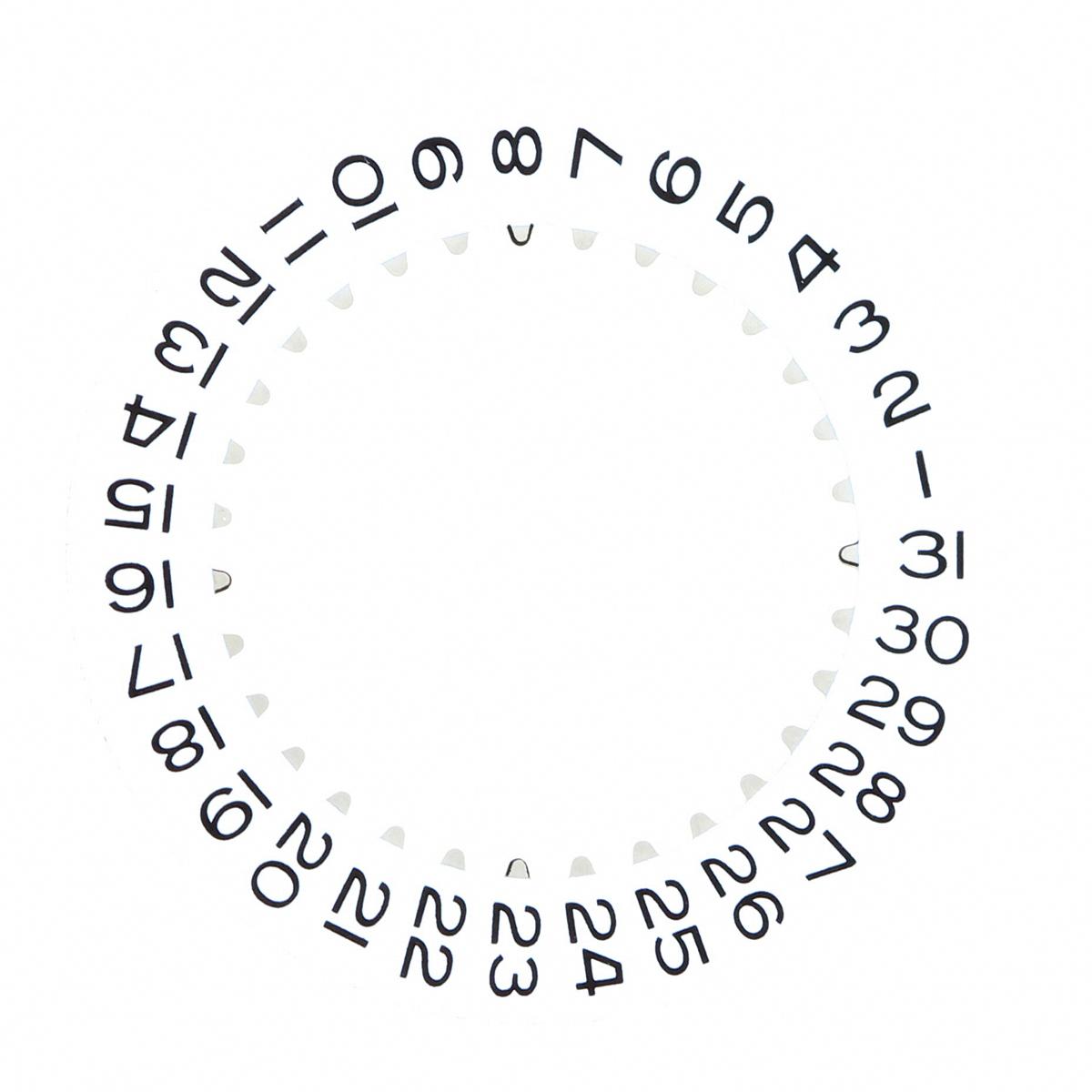 Calendar Date.Details About Calendar Date Disc For Rolex Datejust 16200 16233 116610 Movement 3135 3155 Whit