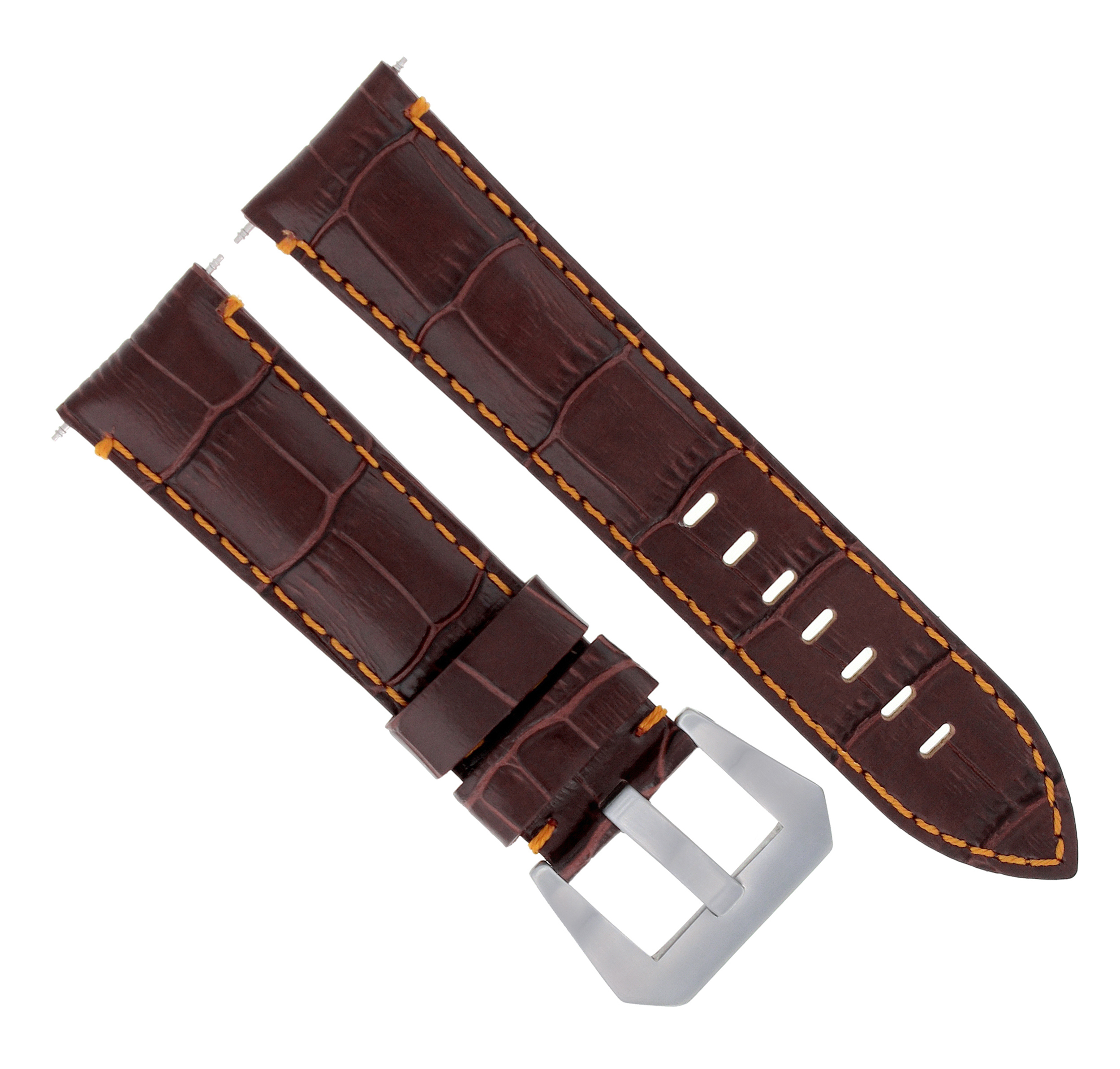 336edd961eedc Details about leather watch band strap for anonimo watch brown jpg  2500x2387 22mm lesther band watch