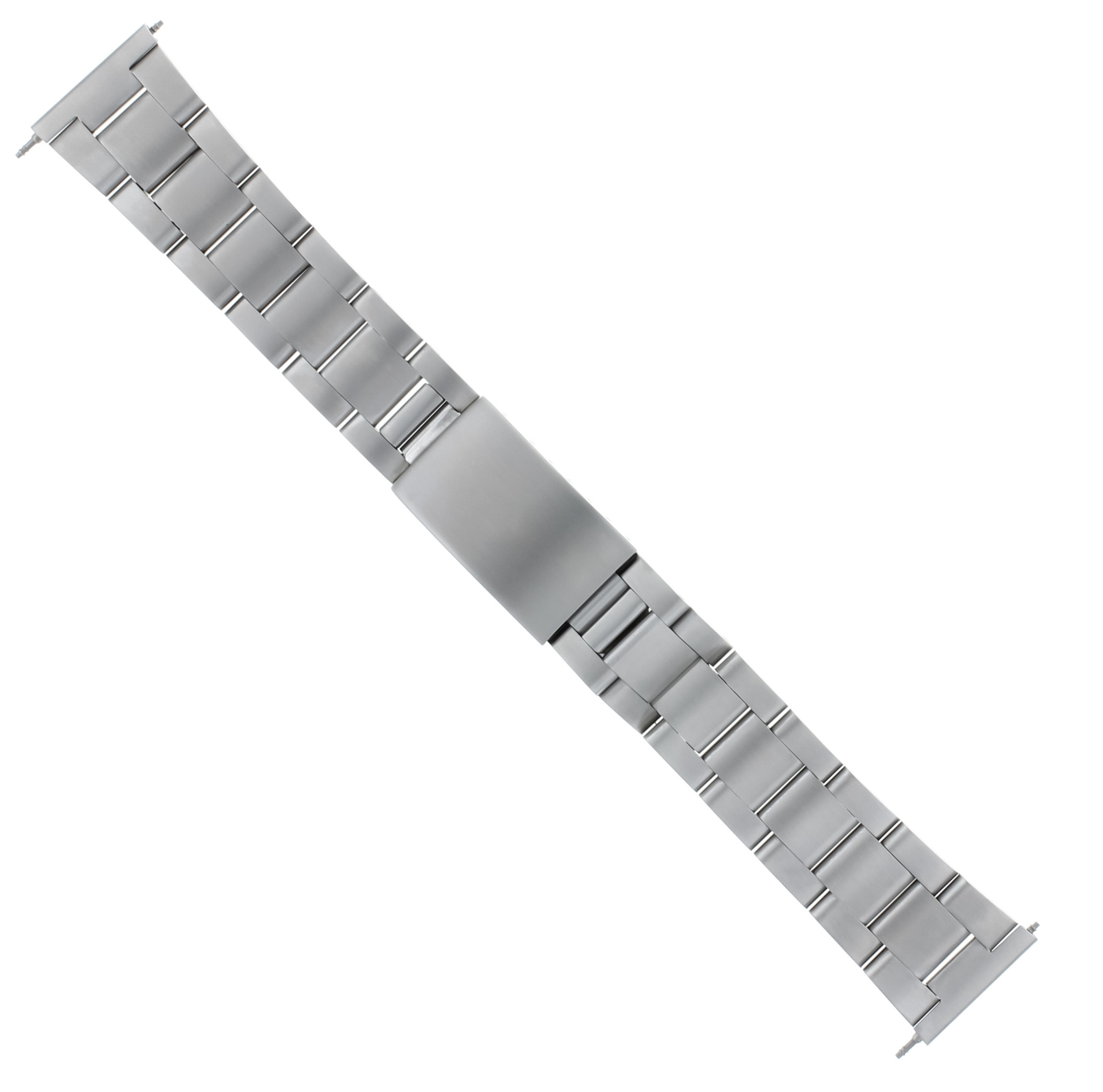 19MM HEAVY OYSTER WATCH BAND BRACELET FOR ROLEX 6694 AIR KING 7205 STEEL  S/END