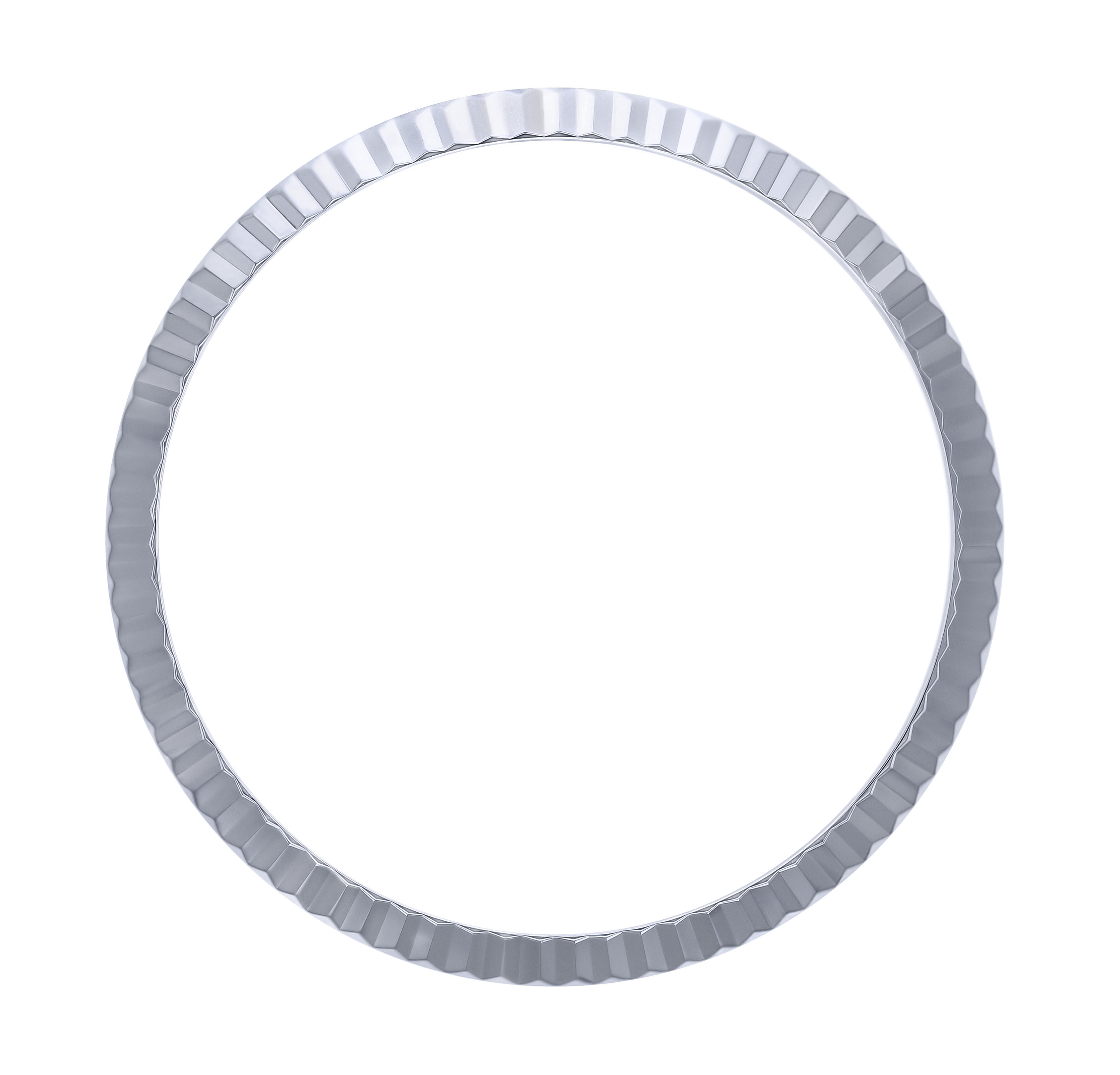 FLUTED BEZEL FOR 36MM ROLEX DATEJUST 116000 116200 116233 116234 18KW REAL GOLD