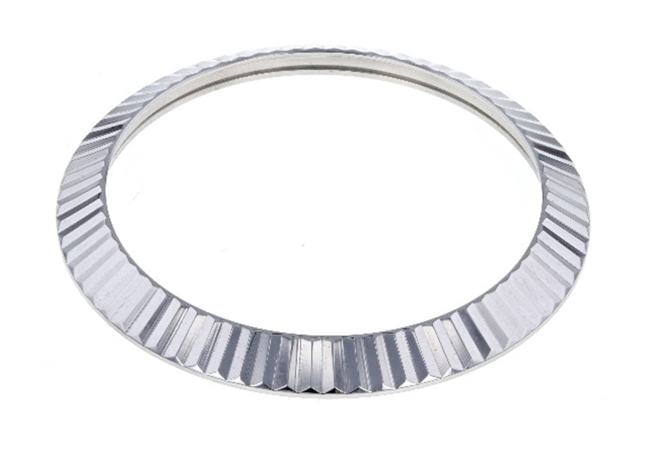 Details about FLUTED BEZEL FOR 41MM ROLEX DATEJUST II DAY DATE II 116300  116334 18KW REAL GOLD