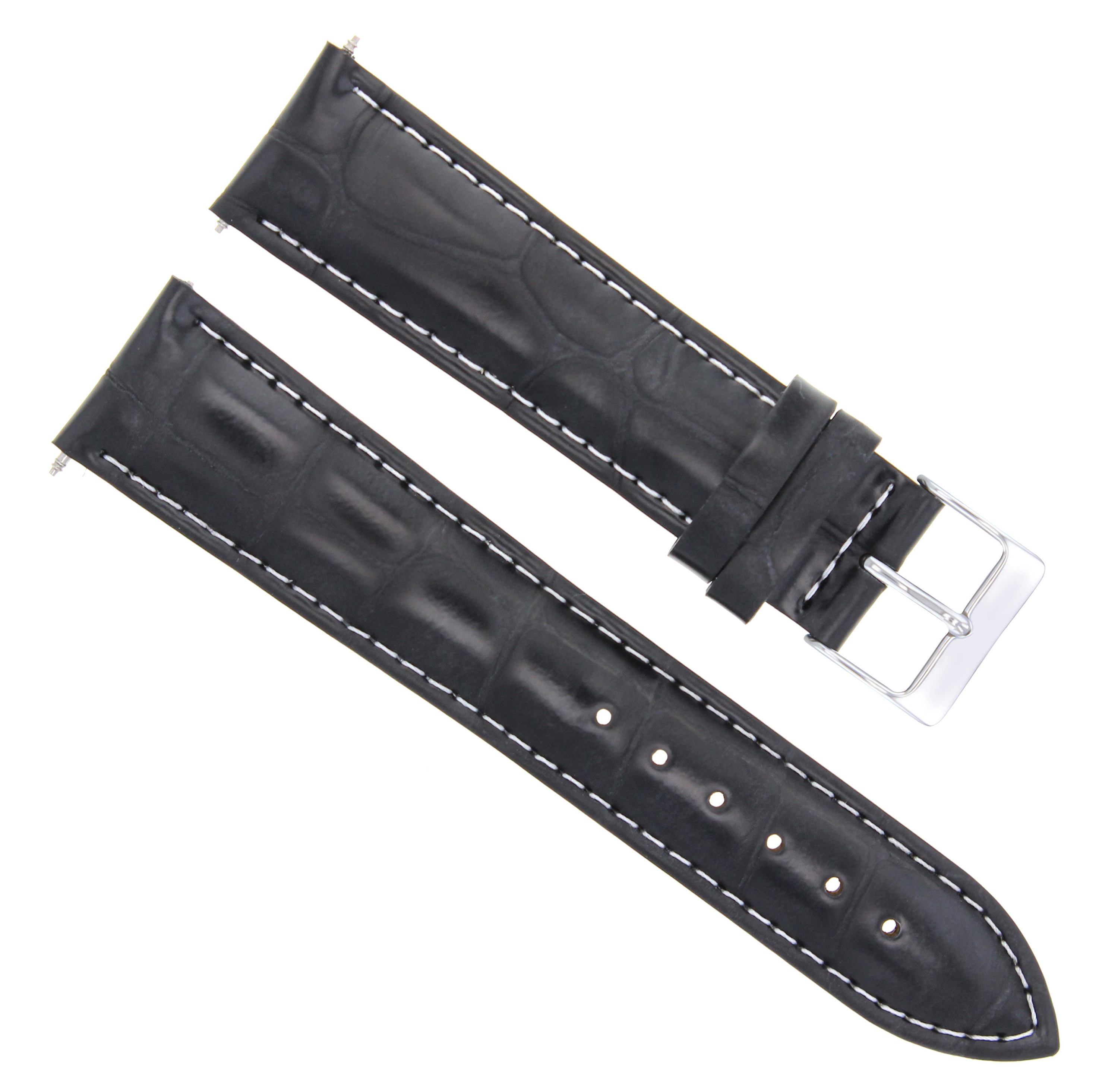 9741693b849 18MM GENUINE LEATHER WATCH BAND STRAP FOR ORIENT WATCH 18 16MM BLACK ...