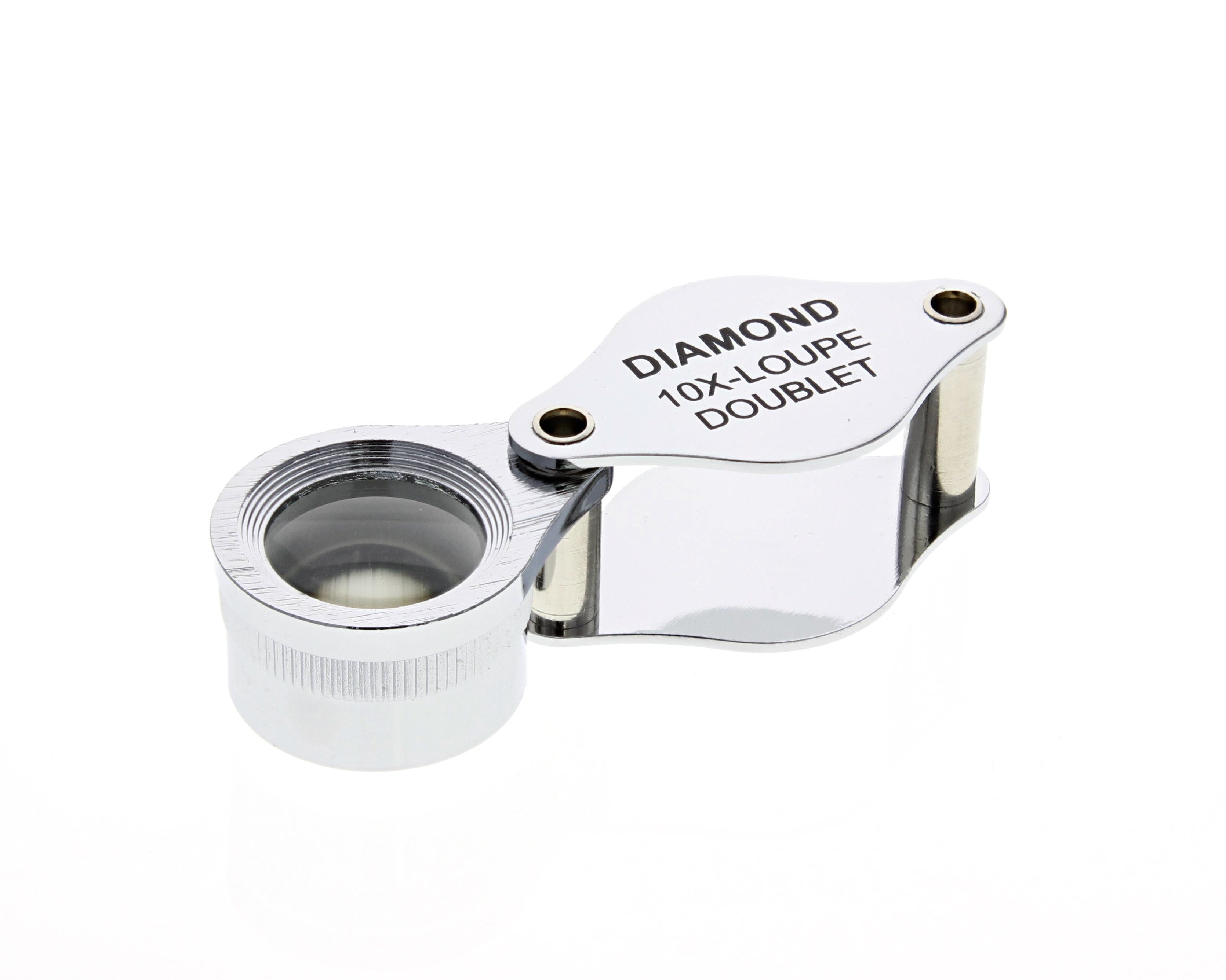 10X Jewelers Economy Loupe 18MM Magnifying Glass New