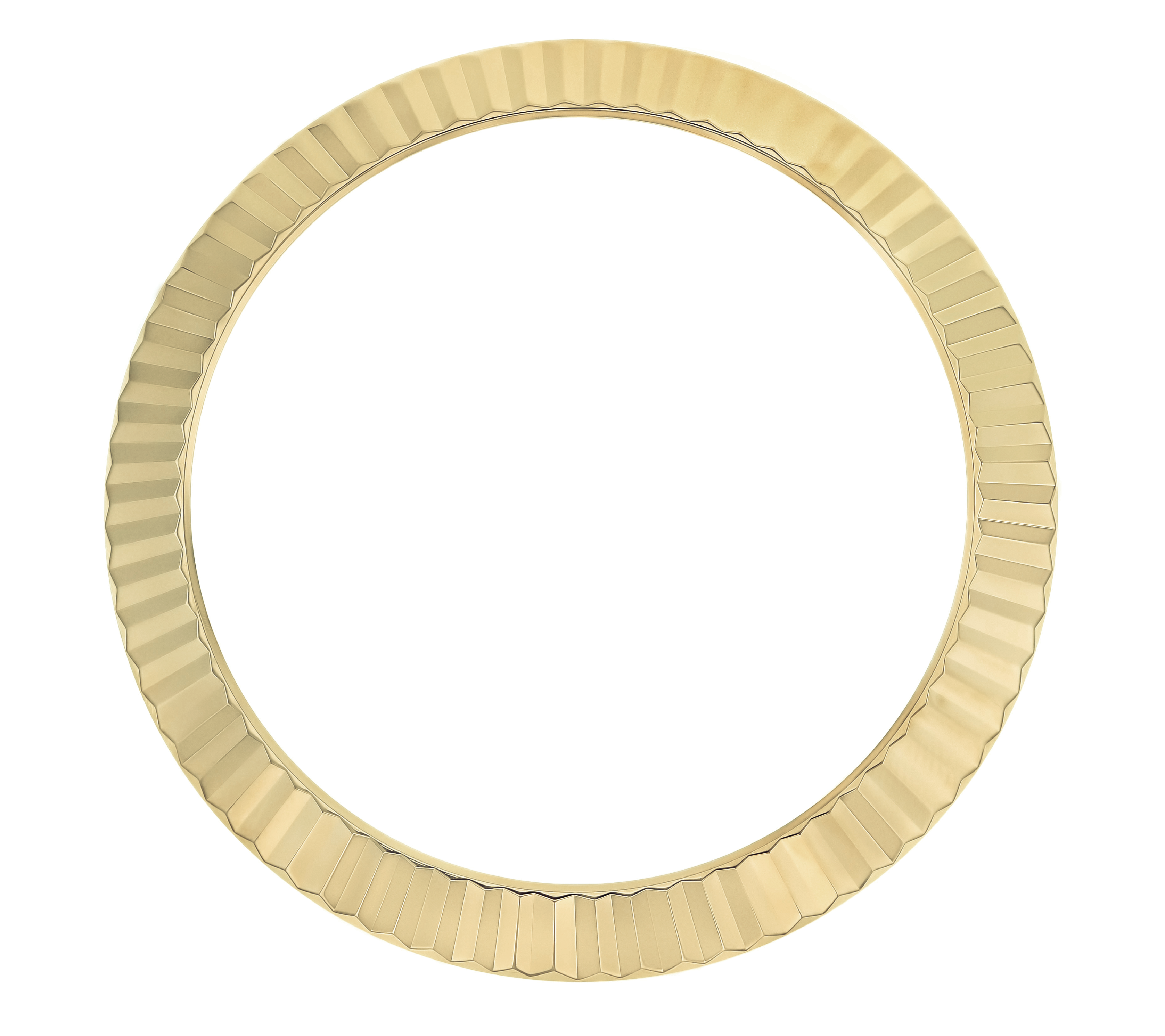 FLUTED  BEZEL FOR 40MM  ROLEX DATEJUST PRESIDENT DAY DATE 218238 228348 GOLD
