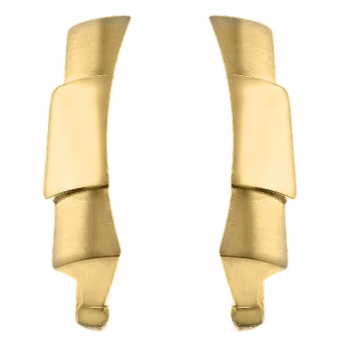 CUSTOM STRAP END LINK FOR ROLEX DAYTONA 16518 16519 16520 16523 18KY REAL GOLD