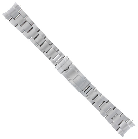 20MM OYSTER WATCH BAND ROLEX SUBMARINER 16610 16800 FLIP LOCK SEL SOLID END