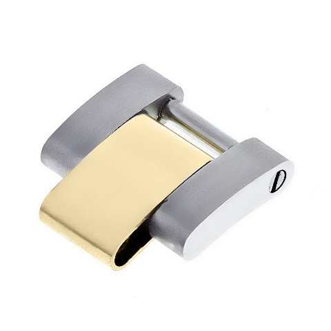 LADIES 18K/SS OYSTER WATCH BAND LINK FOR ROLEX YACHTMASTER WATCH 12.30MM WIDE