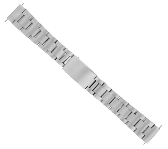 22MM OYSTER WATCH BAND BRACELET FOR CITIZEN ECO DRIVE WATCH STAINLESS STEEL SE