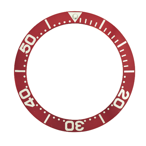 BEZEL INSERT FOR INVICTA 0420 PRO DIVER GRAND COLLECTION 6998 AUTOMATIC RED