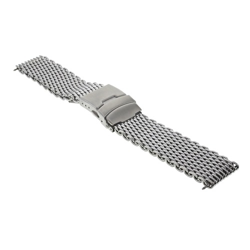 18mm,20mm,22mm,24mm SHARK MESH STAINLESS STEEL WATCH BAND FOR ROLEX