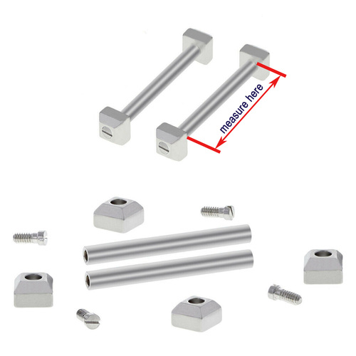 SCREW TUBE PIN BAR FOR CARTIER PASHA STRAP BRACELET BAND LUG 16/17/18/20/21/22#1