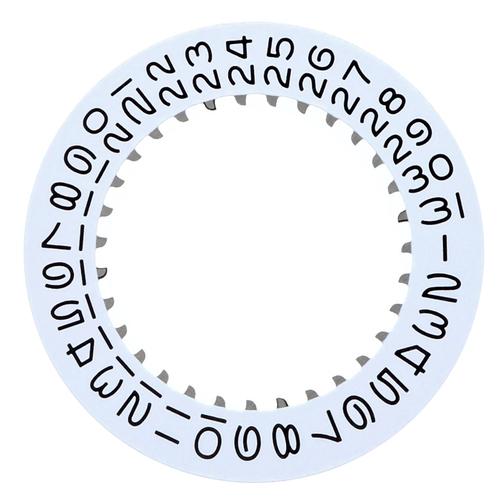 CALENDAR DATE DISC FOR ROLEX QUARTZ DAY DATE 19018 19019 19028 19048 19049 19149