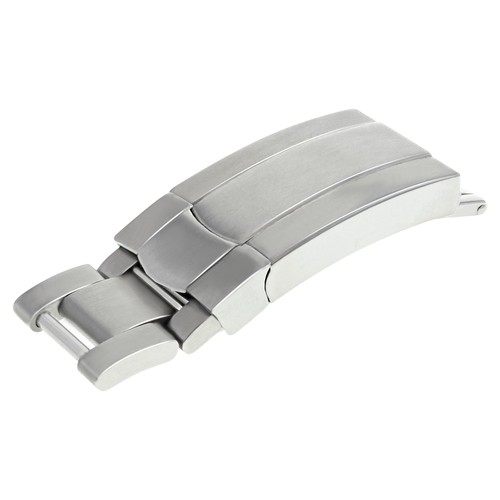 BUCKLE CLASP FOR ROLEX WATCH OYSTER JUBILEE WATCH BAND MATTE STEEL