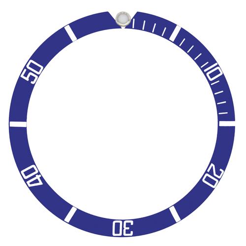 BEZEL INSERT FOR TUDOR SUBMARINER 94010, 76100, 9411/0 BLUE #1