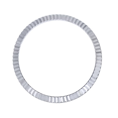 FLUTED BEZEL FOR ROLEX DATEJUST 126200 126201 126231 126233 126234 18KW REALGOLD
