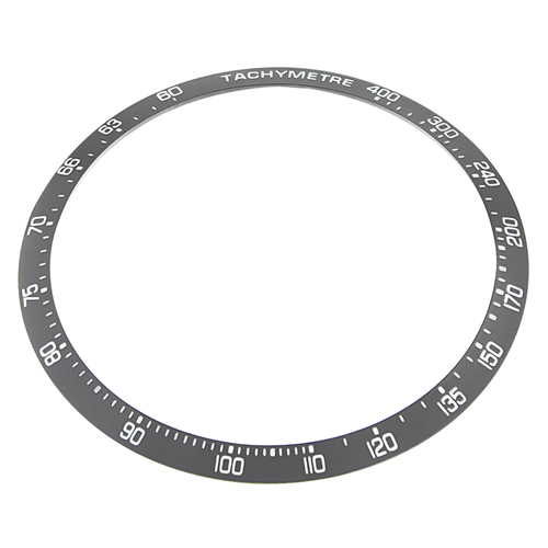 REPLACEMENT BEZEL INSERT GREY FOR WATCH 42.80MM X 37.30MM