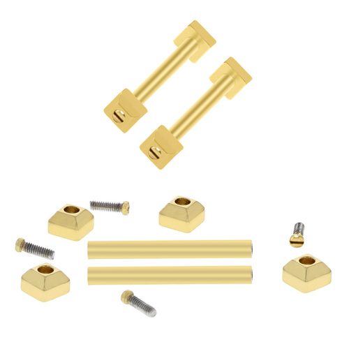 SCREW TUBES PIN FIT CARTIER PASHA BAND STRAP BAND BRACELET LUG FOR 20MM GOLD