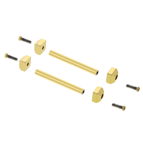 SCREW TUBE PIN FIT CARTIER PASHA LEATHER STRAP BAND BRACELET LUG FOR 22MM #1GOLD